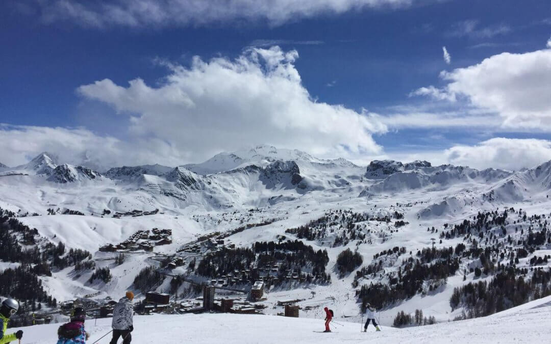 The business benefits of skiing…