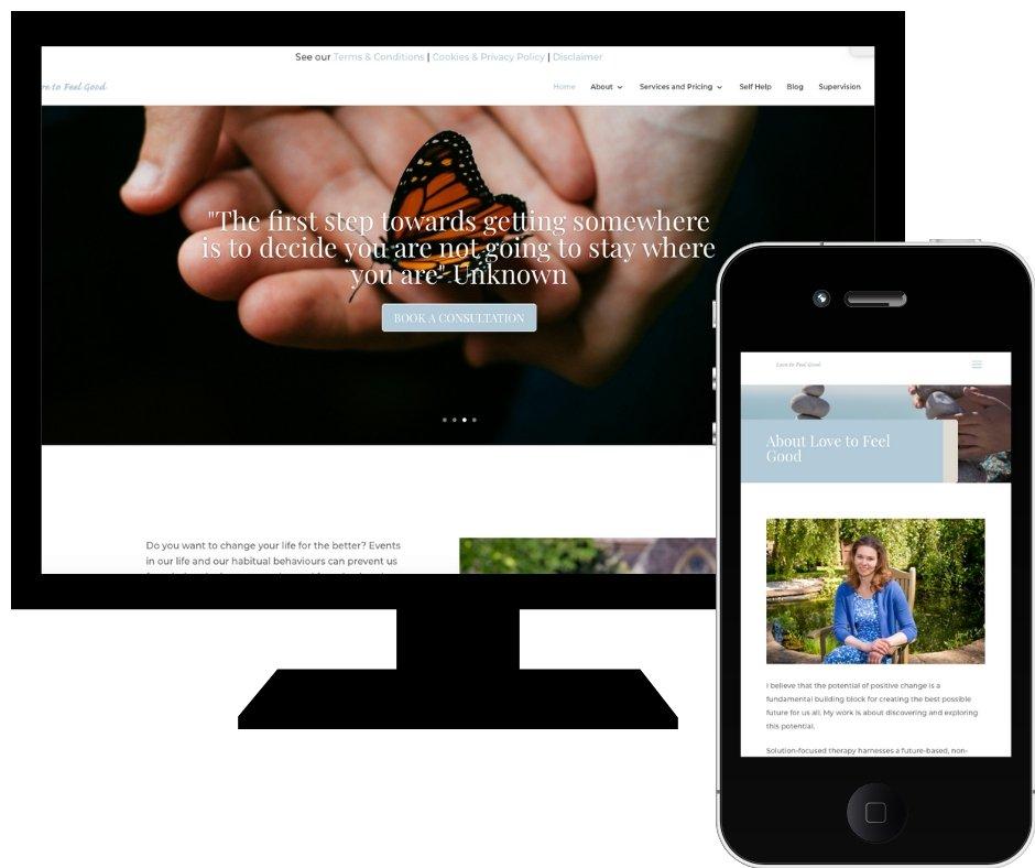 Website reposition business