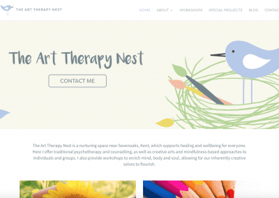 The Art Therapy Nest