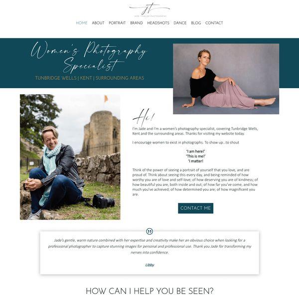 Bridal makeup website design Sevenoaks Kent