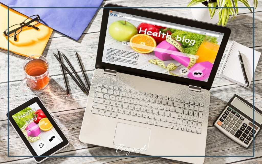 health business blogging in 2021