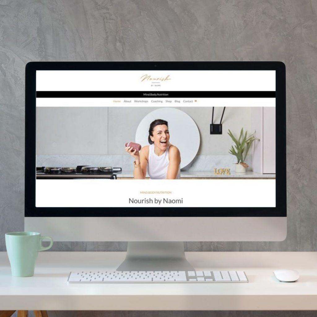 Website homepage header image
